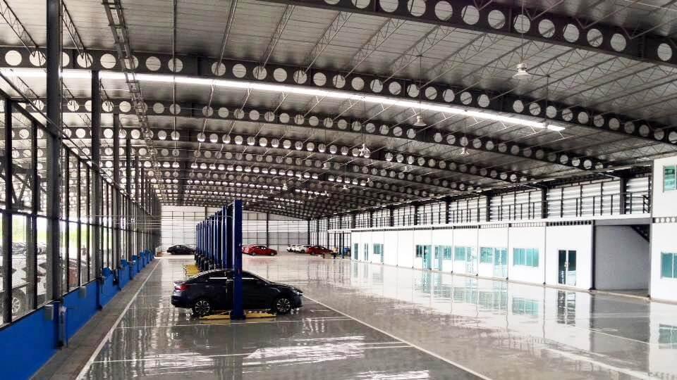 เซลลูล่าร์บีม - cellular beam Mazda เชียงใหม่