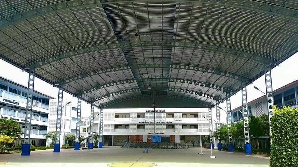 เซลลูล่าร์บีม - cellular beam โรงเรียน St.Joseph จ.ระยอง