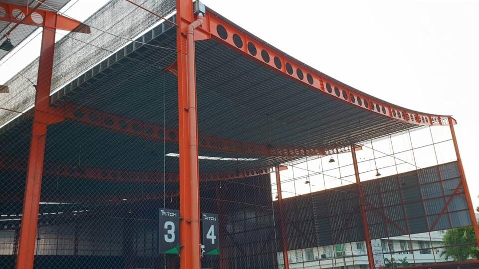 เซลลูล่าร์ บีม หลังคาคลุมสนามฟุตบอล SoccerPro